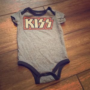 Other - KISS Gray and Blue Onesie in 12 Months